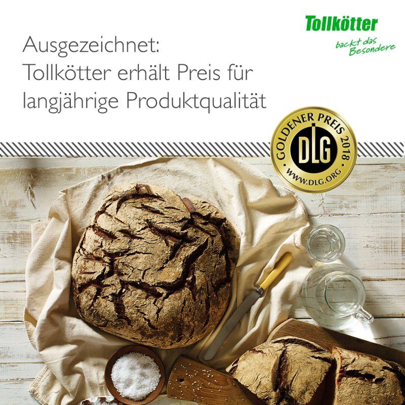 Tollkötter wurde auf der Anuga FoodTec ausgezeichnet