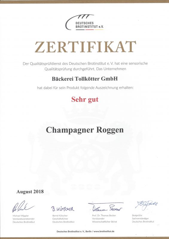 Champagnerroggen